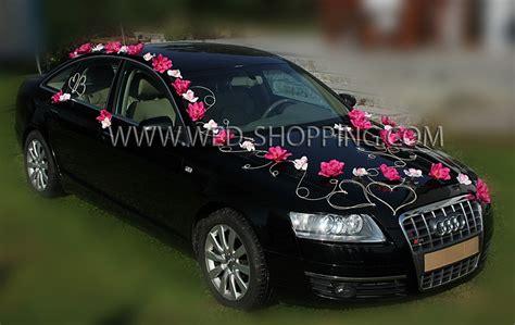 Blumenschmuck Auto Bestellen by Autodekoration Hochzeit Execid
