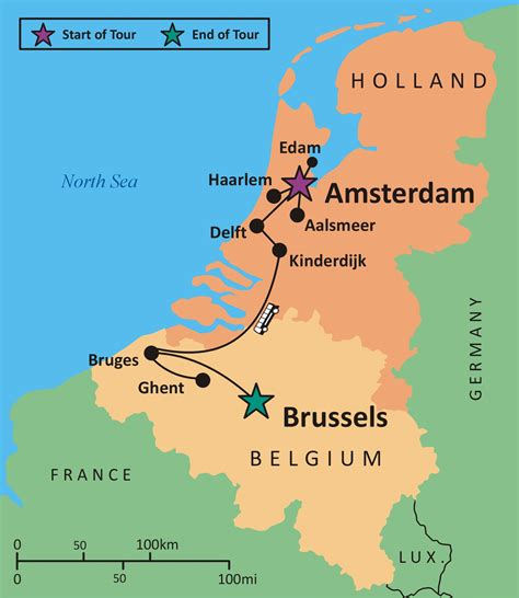 map of belgium and netherlands map of belgium and