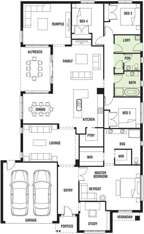 Porter Davis Homes Floor Plans | pin by brooke lodge on floor plans pinterest