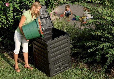 creare lada compostiera domestica 610 lt verde facile giardinaggio