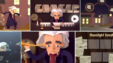 doodle beethoven celebrates beethoven s 245th birthday with an