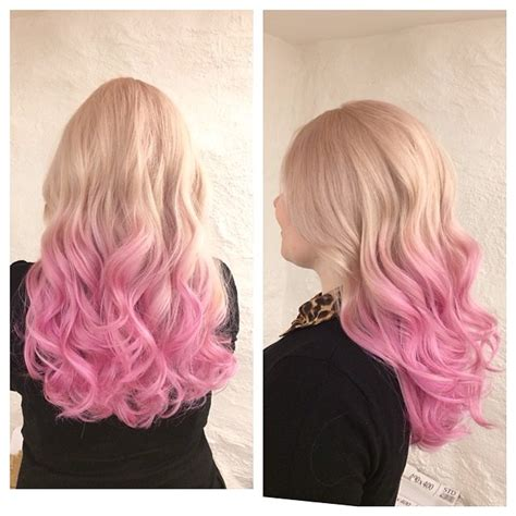 colour hair lighter on bottom top 25 hottest blonde to pink ombr 233 hair colors hair