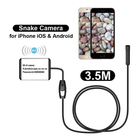 borescope inspection report template 3 5m wifi borescope inspection endoscope snake for