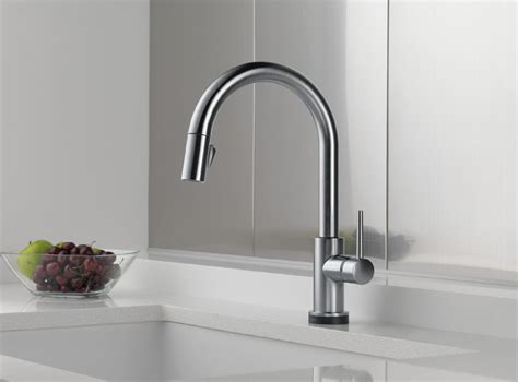 touch2o kitchen faucet delta 9159t ar dst trinsic single handle pull down kitchen