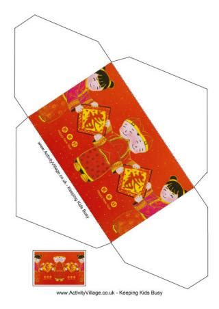 printable chinese new year envelope lucky money envelopes