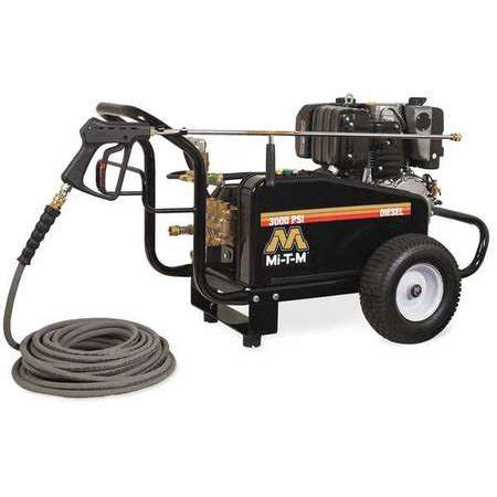 mi t m water pressure washer 3000 psi mi t m 3000 psi 3 9 gpm cold water gas pressure washer gc