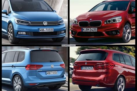 Vergleich Bmw 2er X1 by Photo Comparison Volkswagen Touran Vs Bmw 2 Series Gran