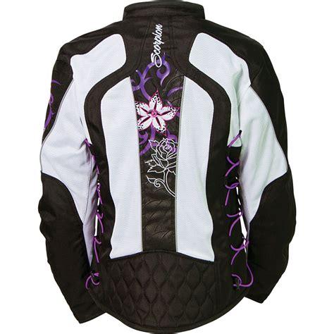Jacket Flowers Import scorpion exo nip tuck 2 mesh motorcycle jacket