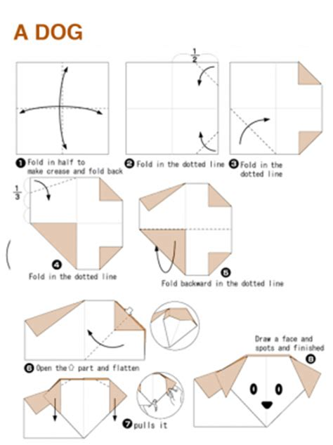 Origami Worksheet - origami craft