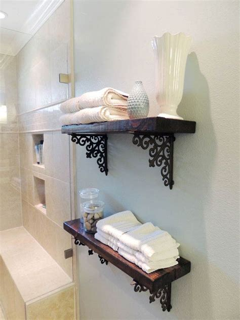 30 Brilliant Diy Bathroom Storage Ideas Architecture Diy Bathroom Shelves