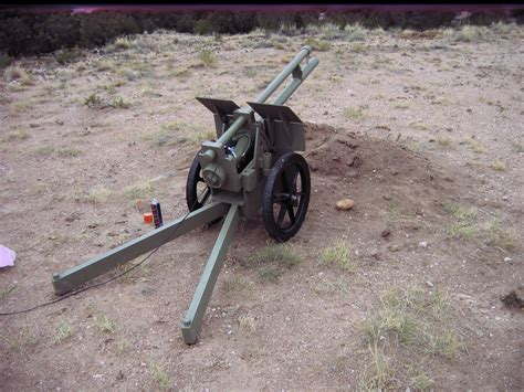 devas tater  carriage mounted potato cannon