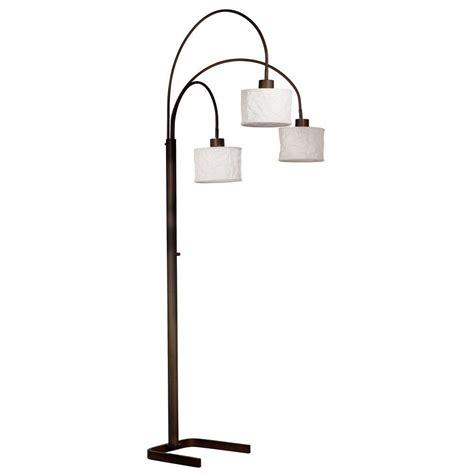 Adesso Floor L Home Depot - adesso floor ls ls shades the home depot lights