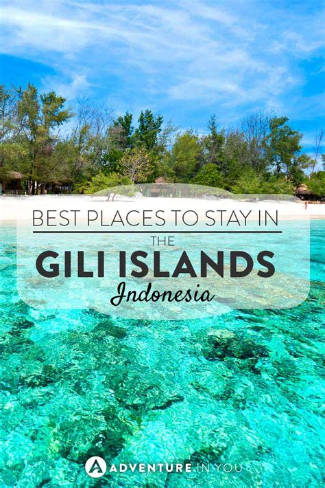best places to stay in lombok where to stay in the gili islands bali trawangan air