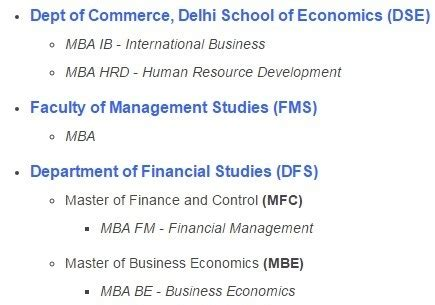 Dse Mba by Which Colleges In Delhi Offer Time Mba