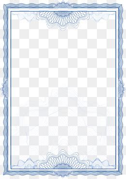 large frame pattern recognition certificate border png images vectors and psd files