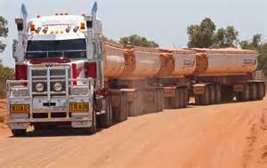 Iron Curtain Trail Tck Australia Linking Road Trains Truck Trailer Building