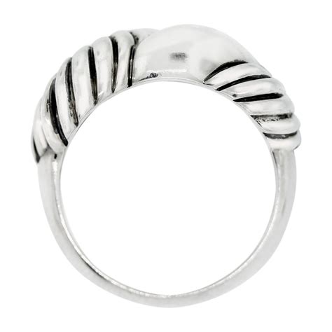 david yurman sterling silver knot ring boca raton