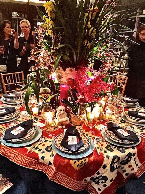veranda orchid stylish entertaining at the nybg orchid dinner quintessence