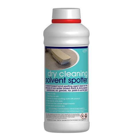 Solvent Based Cleaner For Upholstery by Cleaning Solvent Spotter 1l Restormate