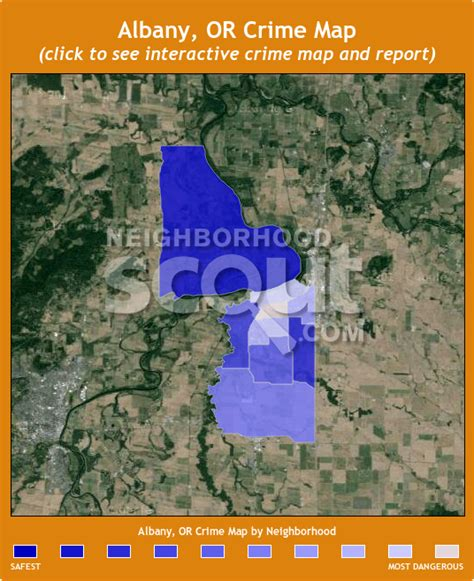 maps albany oregon albany or crime rates and statistics neighborhoodscout
