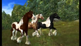 Black Mustangs Horses Tinker Horses Star Stable Online Youtube
