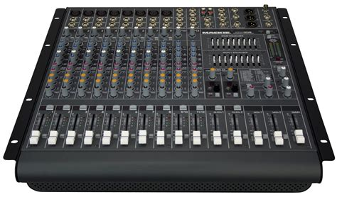 Power Mixer Audio Seven mackie ppm1012 12 channel powered mixer zzounds