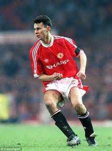 Miniatur Giggs Manchester United Soccerwe giggs golden years as the manchester united great retires here are some images from a
