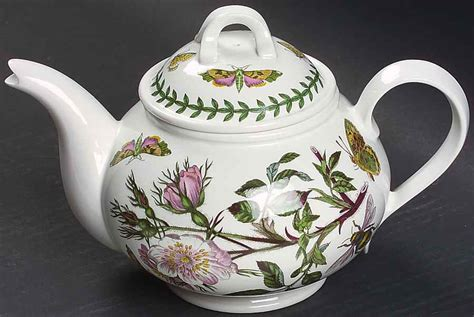 Portmeirion Botanic Garden Teapot Portmeirion Botanic Garden Dogrose Teapot 5587229 Ebay