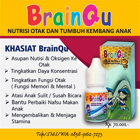 Madu Assunah Tinqu herbalqu tinqu brainqu nutrisi otak dan tumbuh kembang anak