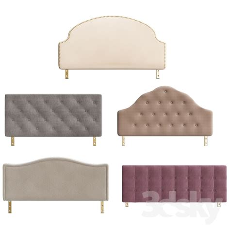 bed headrest 3d models bed headrest bedroom collections 2