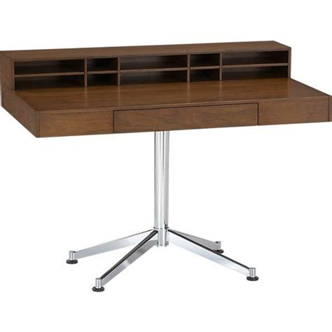 crate and barrel desk crane desk crate and barrel