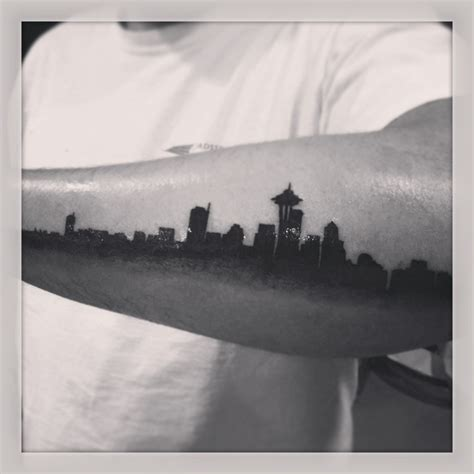 seattle skyline tattoo 260 best images about decay on