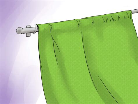 unlined curtains 3 ways to make unlined curtains wikihow