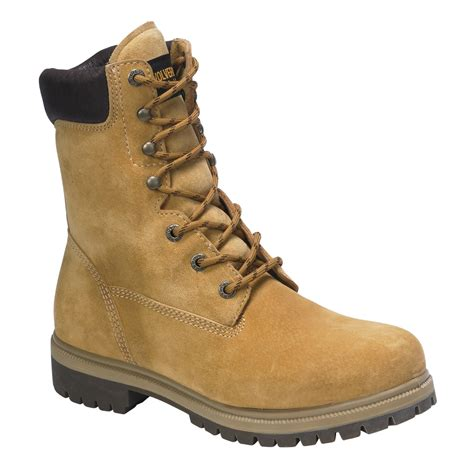 wolverine work boots for wolverine s 8 quot waterproof insulated soft toe work boot