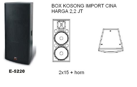 Speaker Simbadda Dan Gambarnya box speaker import dari cina 171 organ tunggal musik