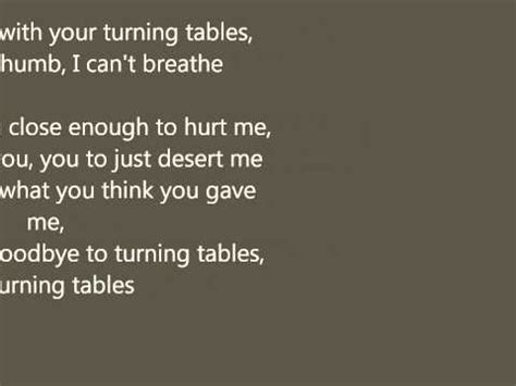 turning tables testo turning tables adele significato della canzone