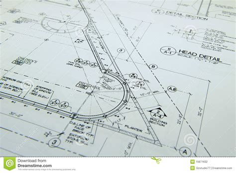 drawing plans architectural drawings stock photo image of business