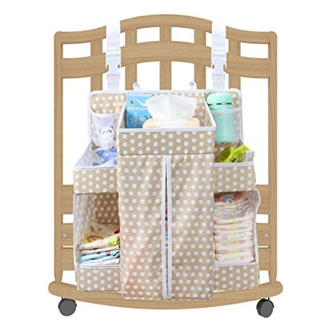 Changing Table Hanging Organizer Biubee Baby Large Nursery Organizer 17 3 Quot X 20 5 Quot X 7