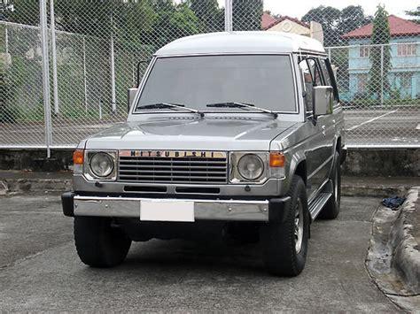 how it works cars 1991 mitsubishi pajero auto manual redmango gze 1991 mitsubishi pajero s photo gallery at cardomain