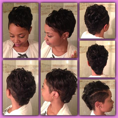 keyshia cole mohawk hairstyles classy mohawk short cut featuring bea love yourself