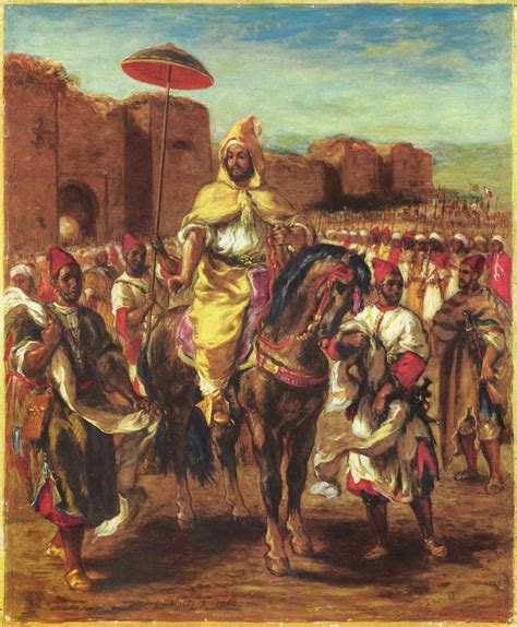moroccan art history eugene delacroix most famous painting