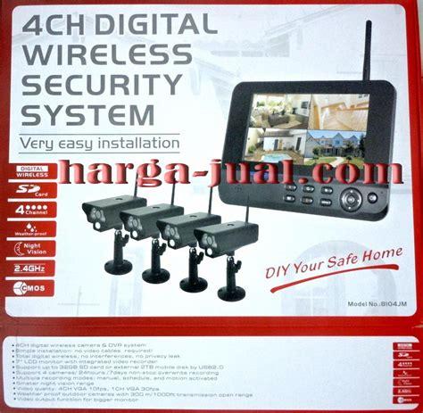 Paket Cctv Lengkap 4 Channel Cal 5180pemasangangaransi paket cctv wireless 4 channel harga terjangkau harga jual