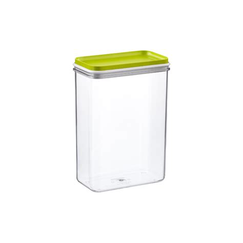 narrow stackable canisters with white lids the container narrow stackable canisters with lime lids the container