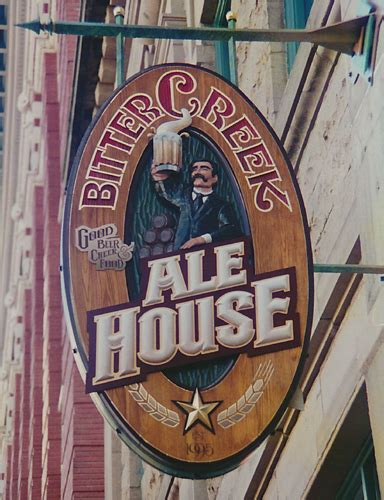 bitter creek ale house exterior signs