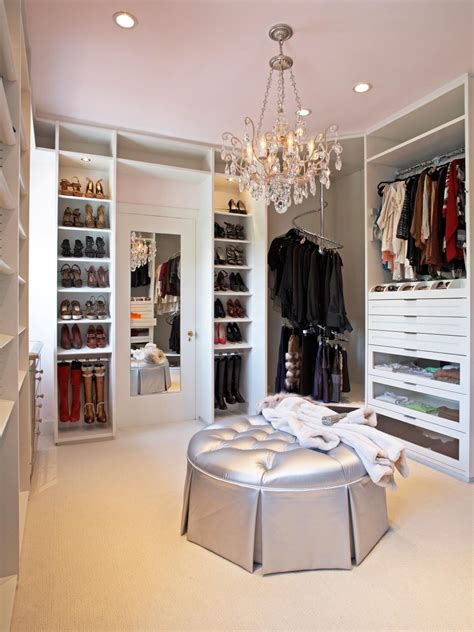 walk in closet design 12 steps to a perfect closet hgtv