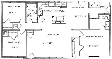 1350 Sq Ft House Plan 1350 Sq Ft Home Plans