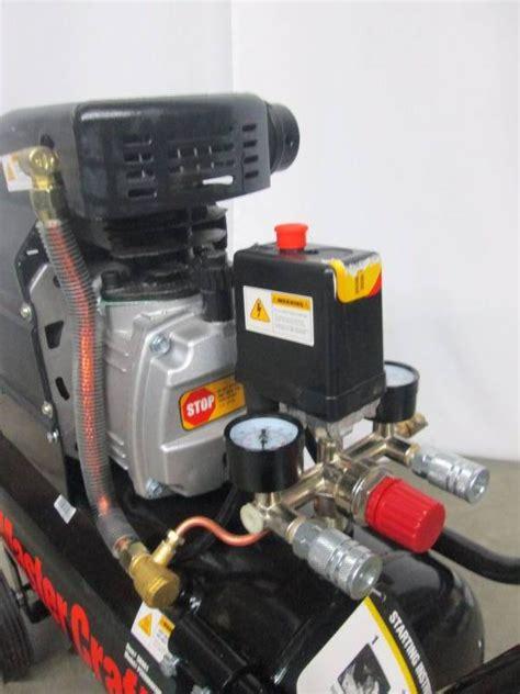 master craft  gallon  hp air compressor november