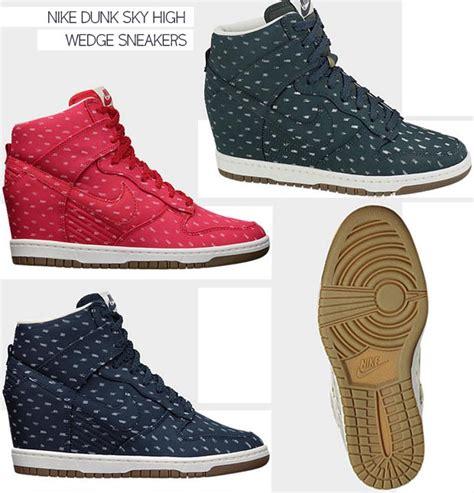 Nike Wedges Sky Dunk Colour Kode Ss6186 air 1 retro 89 black cement grey