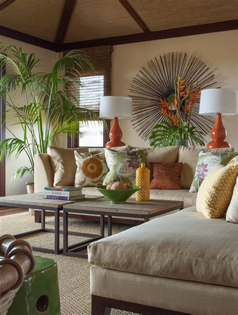 tropical decorations for home how to achieve a tropical style