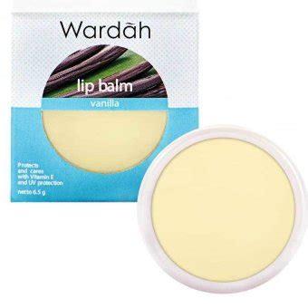 Pelembab Wardah Ukuran Kecil wardah lip balm vanilla lazada indonesia